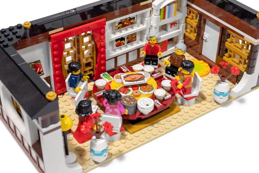 来一场丰盛的团圆饭吧!乐高80101 新春年夜饭套装