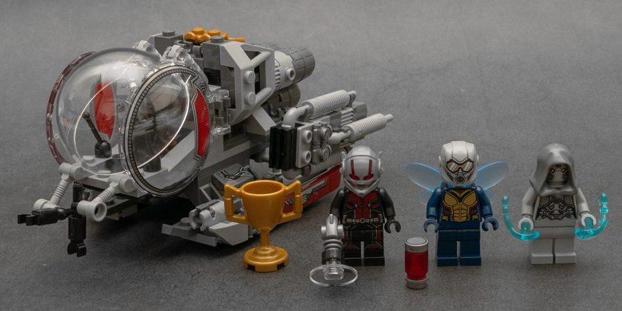 一个套装一部电影:乐高漫威超英系列 76109 量子领域探索者