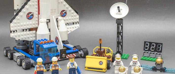 简单与复杂交织:乐高 60080 Spaceport 航天站