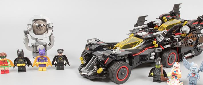 四神合体,蝙蝠归一:乐高蝙蝠侠大电影 70917 终极蝙蝠车评测