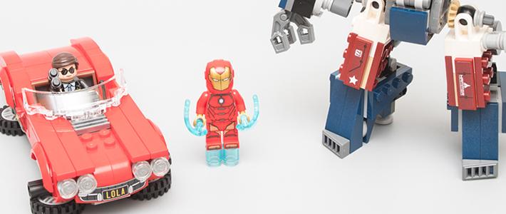 飞天赤兔:乐高漫威超级英雄 76077 钢铁侠:底特律铁甲袭击