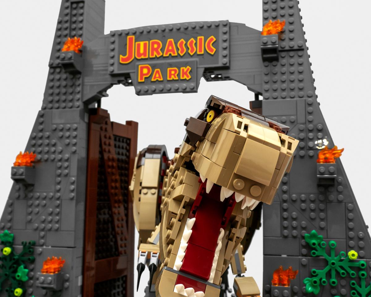 恐怖的庞然大物来袭!乐高侏罗纪世界系列 75936 侏罗纪公园:暴走霸王龙