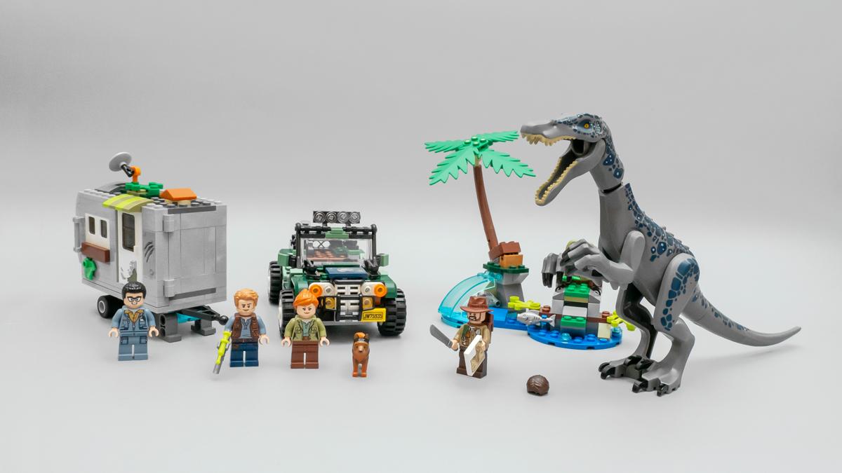 丛林中隐藏的宝藏与危机——乐高侏罗纪世界系列 75935 重爪龙之战:寻宝探险