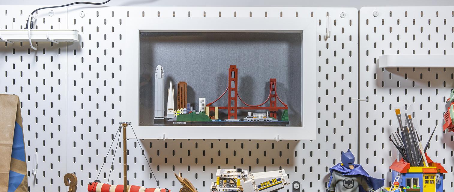 大桥与小岛:乐高建筑系列 21043 旧金山天际线