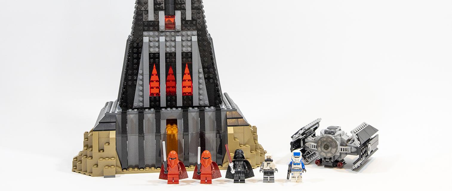 黑暗与愤怒的居所:乐高星球大战系列 75251 达斯·维达的城堡