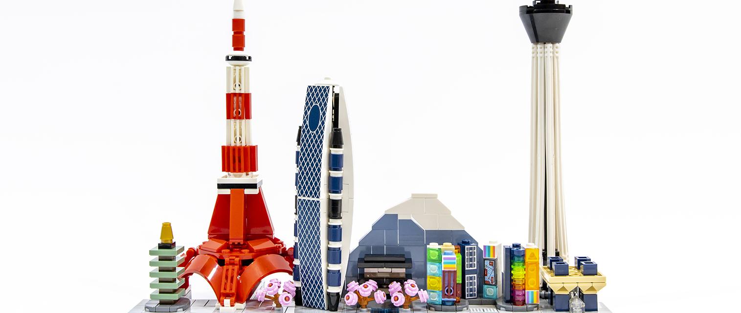 掌中江户:乐高建筑系列21051东京天际线