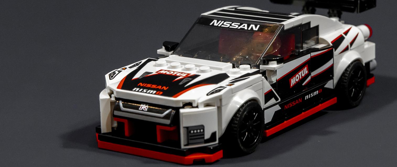 经典系列增强版!乐高赛车系列76896 日产 GT-R NISMO