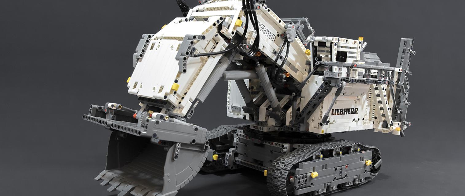 庞然巨物粗大硬翘!乐高科技系列 42100 利勃海尔 R9800