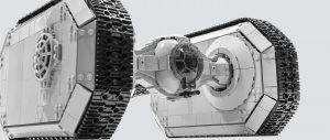 威武奇葩的战车:MOC作品星球大战载具TIE坦克