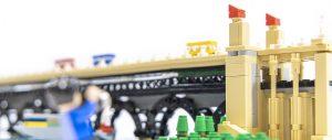 巍巍钟山迎朝阳,金桥飞架过大江:乐高MOC南京长江大桥