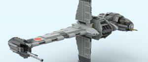 重装铁拳:乐高星球大战 10227 B翼星际战机 虚拟搭建评测