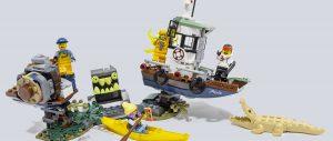 驶入幽幻水域:乐高幽灵秘境 70419 失事的捕虾船