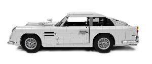 英伦绅士风不再的硬汉跑车:乐高创意百变高手系列10262 詹姆斯·邦德的阿斯顿·马丁DB5