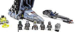 乐高星球大战系列 75314 残次品小队穿梭机,飞船小人仔多,星战粉丝都喜欢