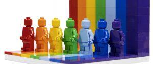 乐高40516每个人都很棒套装:欧美玩家讲平权,我只要七色光
